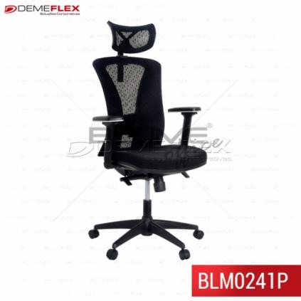 Cadeira Presidente Blume Office BLM0241P Curitiba Demeflex