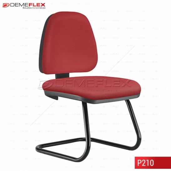 Cadeira Fixa Estrutura Preta Operacional Média Sky Curitiba Demeflex