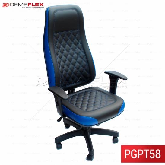 Cadeira Giratória Gamer Escritório Office Play Curitiba Demeflex