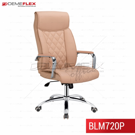 Cadeira Presidente Blume Office BLM720P Curitiba Demeflex
