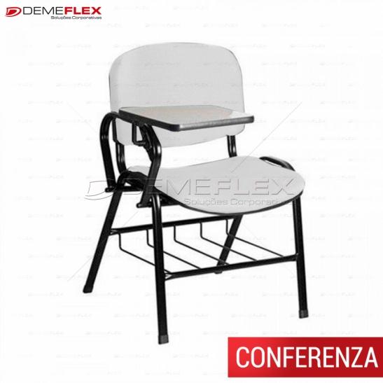 Cadeira Universitária Conferenza Curitiba Demeflex