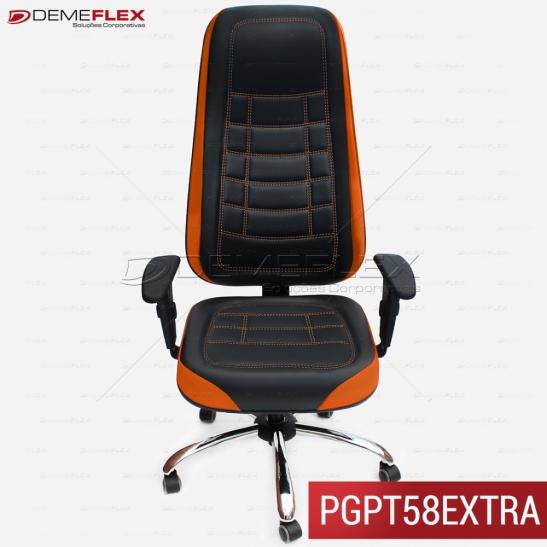 Cadeira Extra Giratória Gamer/Escritório/Office/Play Personalizada com Bordado Curitiba Demeflex