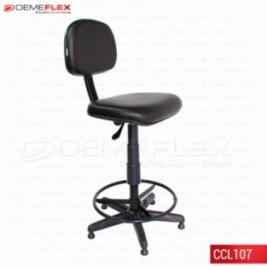 Cadeira Caixa L Fixo Curitiba Demeflex