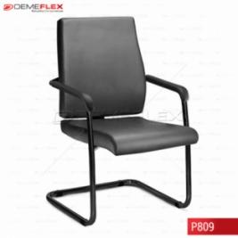 Cadeira Fixa Aproximação Estrutura Preta Diretor Sephia Curitiba Demeflex