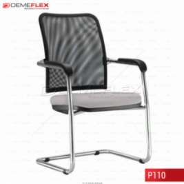 Cadeira Fixa Estrutura Cromada Diretor Soul Curitiba Demeflex