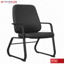 Cadeira Fixa Estrutura Preta Diretor Maxxer Curitiba Demeflex