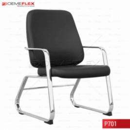 Cadeira Fixa Estrutura Cromada Diretor Maxxer Curitiba Demeflex