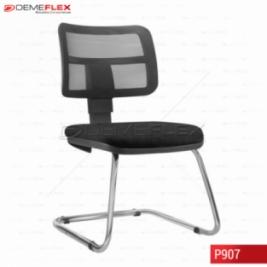 Cadeira Fixa Estrutura Cromada Diretor Zip Curitiba Demeflex