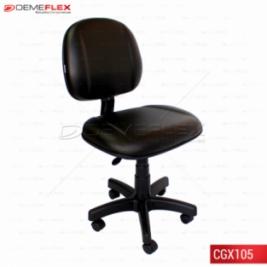 Cadeira Giratória Escritório Executiva Gomada Curitiba Demeflex