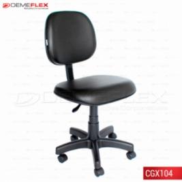 Cadeira Giratória Escritório Secretária Recepção L-fixo Executiva Curitiba Demeflex