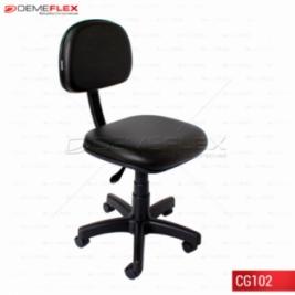 Cadeira Giratória Econômica Escritório Recepção Curitiba Demeflex