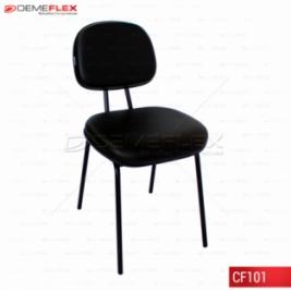 Cadeira Fixa Pé Palito Curitiba Demeflex