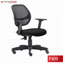 Cadeira Giratória Operacional Job Tela Curitiba Demeflex