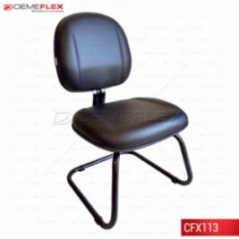 Cadeira Fixa Recepção Executiva Gomada Curitiba Demeflex