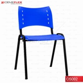Cadeira ISO Empilhavel Multiuso Polipropileno Colorido Curitiba Demeflex