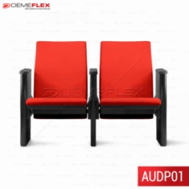 Cadeiras Para Auditório Plus Base Fixa Demeflex Curitiba