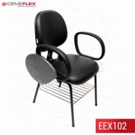 Cadeira Universitária com Prancheta Escamoteável Curitiba Demeflex