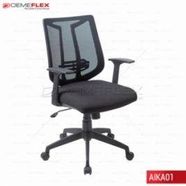 Cadeira Giratoria Diretor Tela Curitiba Demeflex