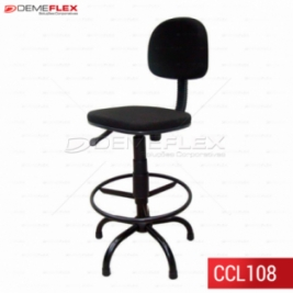 Cadeira Caixa L-Fixo Demeflex Curitiba