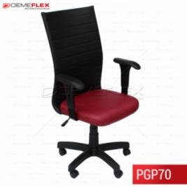 Cadeira Presidente com Encosto Slim Curitiba Demeflex