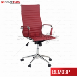 Cadeira Presidente BLM03P Curitiba Demeflex