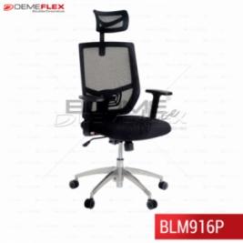 Cadeira Presidente Blume Office BLM916P Curitiba Demeflex