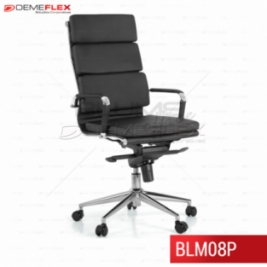 Cadeira Presidente Blume Office BLM08P Curitiba Demeflex