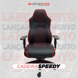 Cadeira Gamer Customizada Speedy Curitiba