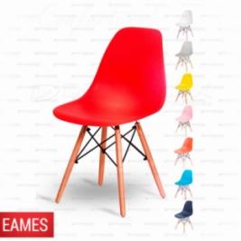 Cadeira Base em Madeira e Aço Eames Demeflex Curitiba
