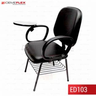 Cadeira Universitária com Braço Curitiba Demeflex